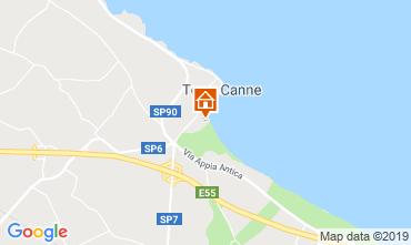 Mapa Torre Canne Apartamentos 96382