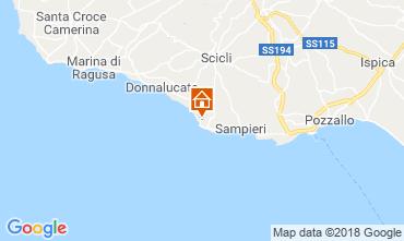 Mapa Scicli Apartamentos 69283