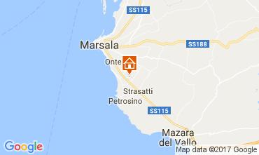 Mapa Marsala Apartamentos 112627