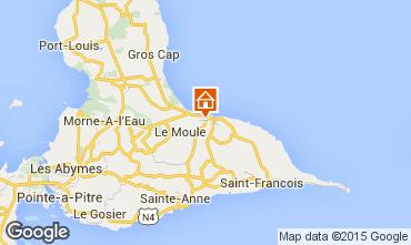 Mapa Le Moule Casa de turismo rural/Casa de campo 92117