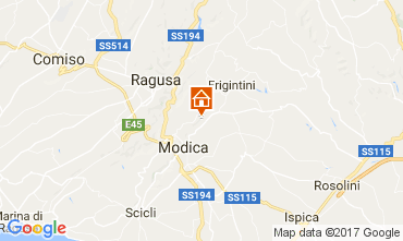 Mapa Modica Vivenda 109767