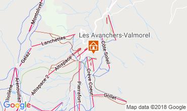 Mapa Valmorel Apartamentos 117342