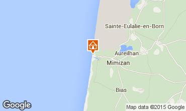 Mapa Mimizan Apartamentos 6527
