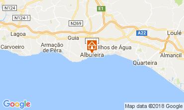 Mapa Albufeira Apartamentos 113295