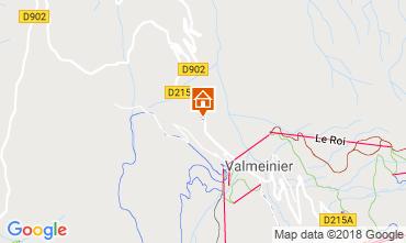 Mapa Valmeinier Chalé 3455