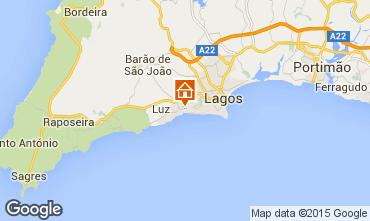 Mapa Praia da Luz Est�dio 58019