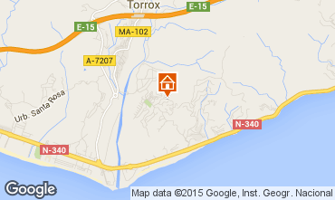 Mapa Torrox Apartamentos 67674