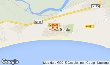 Mapa Monte Gordo Apartamentos 83178