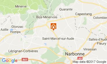 Mapa Narbonne Casa 111188