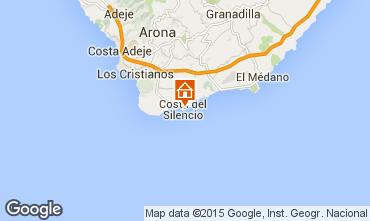 Mapa Costa del Silencio Apartamentos 14662