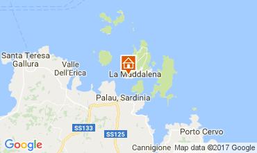 Mapa La Maddalena Apartamentos 53473