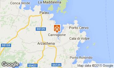 Mapa Cannigione Apartamentos 83919