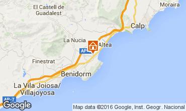 Mapa Benidorm Vivenda 92946