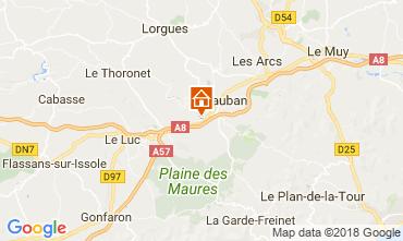 Mapa Fréjus Vivenda 112654