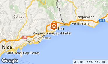 Mapa Roquebrune Cap Martin Apartamentos 56046