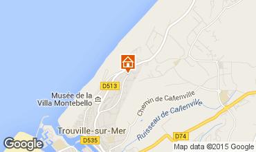 Mapa Trouville sur Mer Estúdio 10805