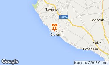 Mapa Ugento - Torre San Giovanni Apartamentos 77791