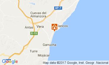 Mapa Vera Apartamentos 108123
