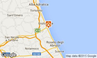 Mapa Roseto degli Abruzzi Apartamentos 48432