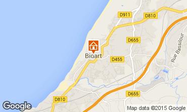 Mapa Bidart Apartamentos 99426
