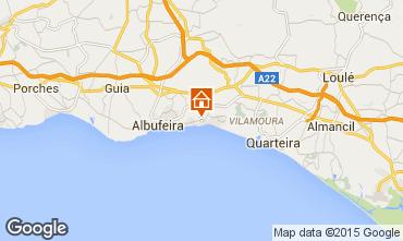 Mapa Albufeira Apartamentos 70471
