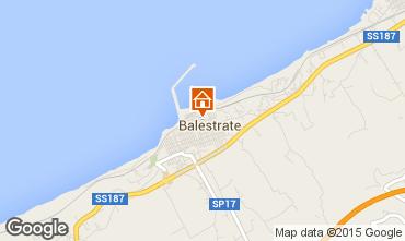 Mapa Balestrate Apartamentos 74004
