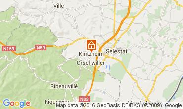 Mapa Kintzheim Casa de turismo rural/Casa de campo 105801