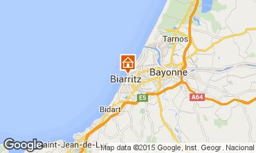 Mapa Biarritz Apartamentos 24484
