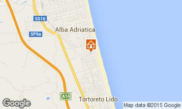 Mapa Alba Adriatica Apartamentos 88815