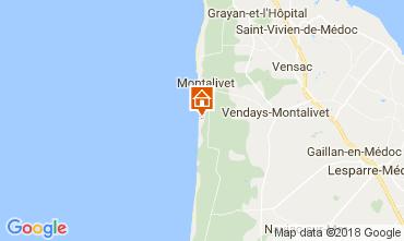 Mapa Montalivet Mobil Home 111910