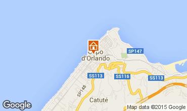 Mapa Capo d'Orlando Apartamentos 61636