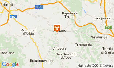 Mapa Siena Apartamentos 71873