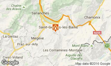 Mapa Saint Gervais Mont-Blanc Chal� 80692
