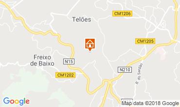 Mapa Amarante Casa de turismo rural/Casa de campo 72077