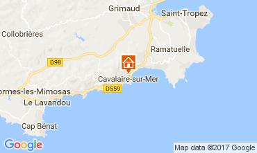 Mapa Cavalaire-sur-Mer Apartamentos 112231
