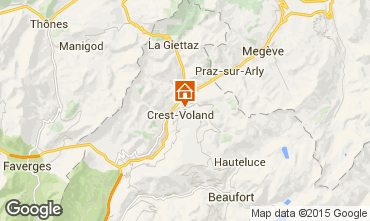 Mapa Crest Voland Cohennoz Chal� 1130