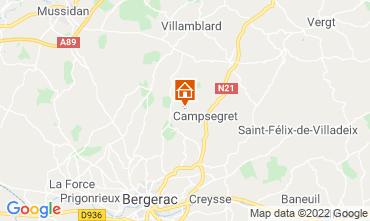 Mapa Bergerac Casa de turismo rural/Casa de campo 118030