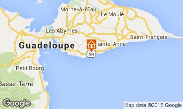 Mapa Gosier (Guadeloupe) Casa de turismo rural/Casa de campo 101515