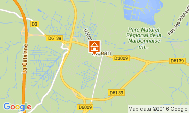 Mapa Sigean Casa 103514
