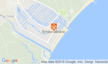 Mapa Empuriabrava Apartamentos 52193