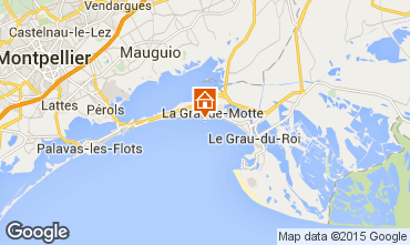 Mapa La Grande Motte Apartamentos 57110