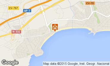 Mapa Benidorm Apartamentos 77901