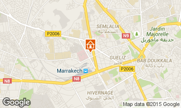 Mapa Marraqueche Apartamentos 65224