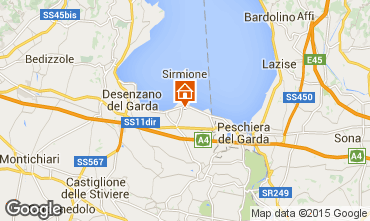 Mapa Sirmione Apartamentos 69665