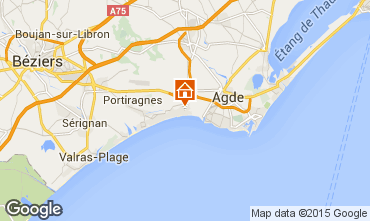 Mapa Vias Praia Mobil Home 95245