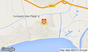 Mapa Vias Praia Mobil Home 90517