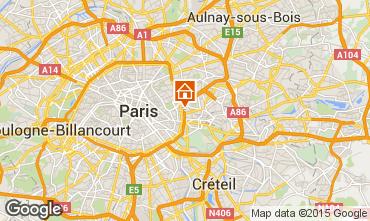 Mapa PARIS Apartamentos 97715