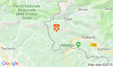 Mapa Nova Gorica Casa 120044