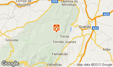 Mapa Guarda Casa de turismo rural/Casa de campo 50385