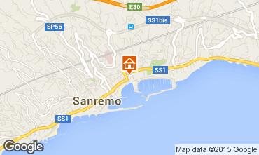 Mapa Sanremo Apartamentos 26342
